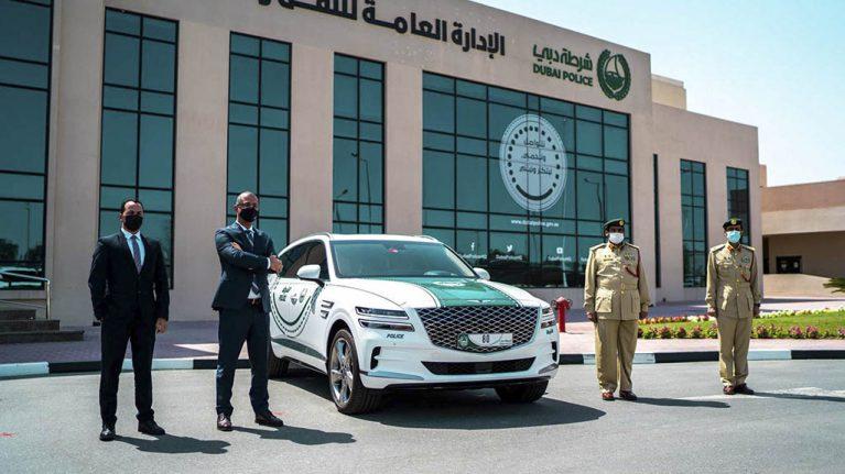 جنسیس-ماشین-ناوگان-پلیس-دوبی-2
