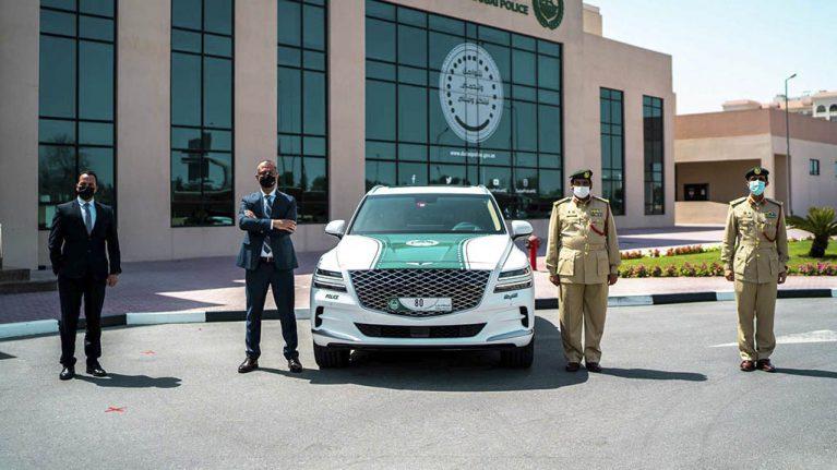 جنسیس-ماشین-ناوگان-پلیس-دوبی-1