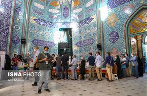 تصاویر / حال و هوای انتخابات ۱۴۰۰