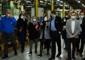 حضور مدیرعامل و کارکنان گروه صنعتی ایرانخودرو در راهپیمایی خودرویی ۲۲ بهمن