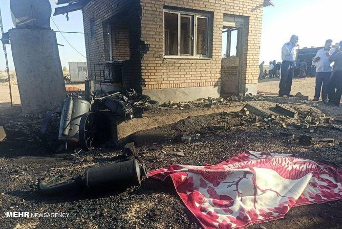 انفجار در منطقه نفتی چشمه خوش دهلران