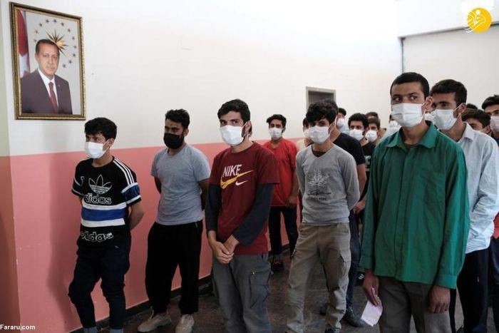 جلوگیری ترکیه از ورود مهاجران افغان+ تصاویر