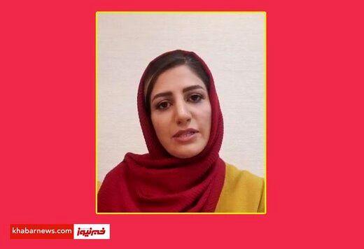 مجری خانم صداوسیما به خاطر عذرخواهی اش، عذرخواهی کرد