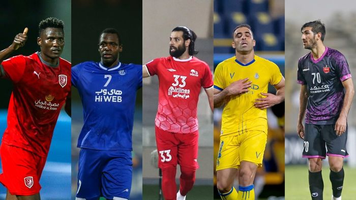 ۳ مهاجم ایرانی در بین بهترین های آسیا