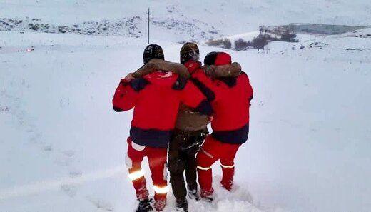 نجات ۵ کوهنورد در ارتفاعات توچال