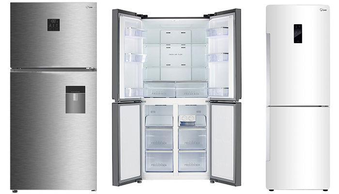 قیمت روز انواع یخچال فریزر در بازار + جدول