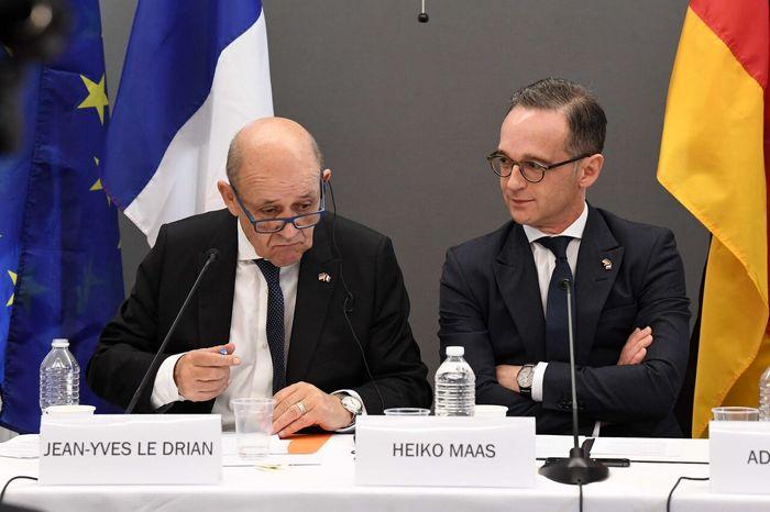 گفت و گوی وزرای خارجه آلمان و فرانسه درباره برجام