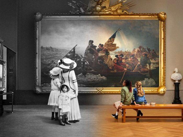 برپایی جشن ۱۵۰ سالگی موزه نیویورک در این نمایشگاه