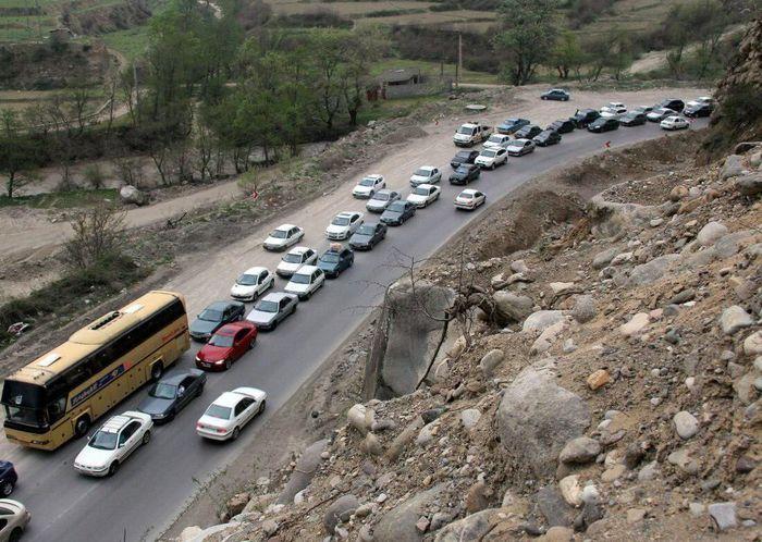 آخرین وضعیت ترافیک در محورهای شمال