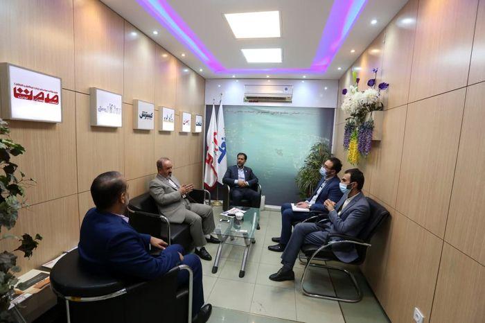بازدید مدیرعامل شرکت سهامی نمایشگاه های بین المللی ایران از موسسه صمت