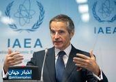 گروسی به رایزنی با ایران ادامه خواهد داد