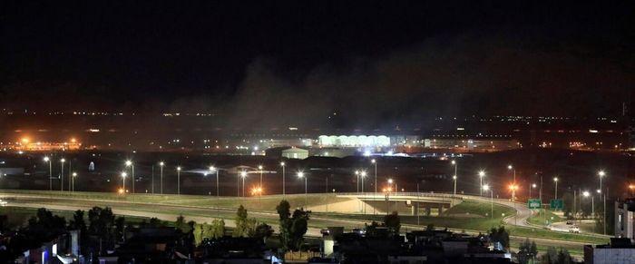 واکنش وزارت دفاع آمریکا به حمله موشکی اربیل