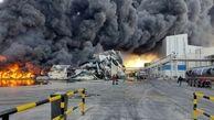 علت آتش سوزی در شرکت طبیعت زرندیه چه بود؟