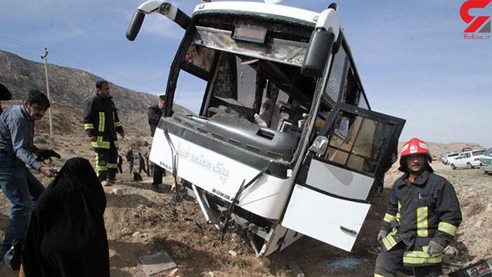 آخرین وضعیت سرباز معلمان مصدوم سانحه اتوبوس