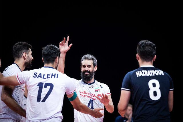 لیگ ملتهای والیبال /شکست ایران برابر استرالیا