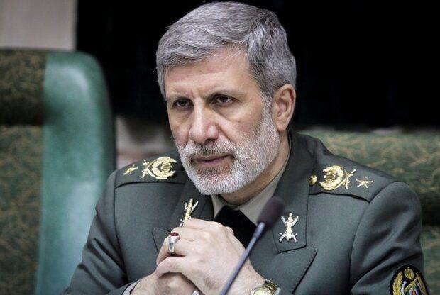 پیام تبریک وزیر دفاع به رئیسی