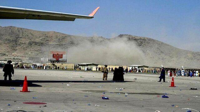 بارانی از ترکش در فرودگاه کابل!