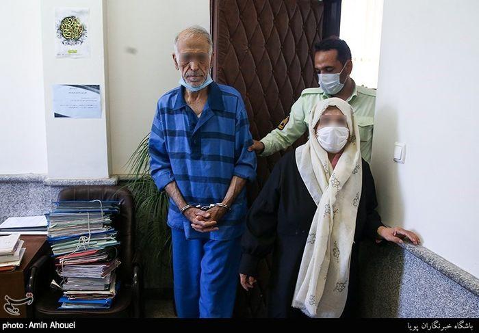 گزارش تصویری اسفناک از دادگاه پدر و مادر بابک خرمدین