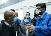 افتتاح خط تولید گیربکس ۶ جهتی توسط وزیر صمت