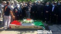 گزارش تصویری / تشییع پیکر خبرنگاران شهید