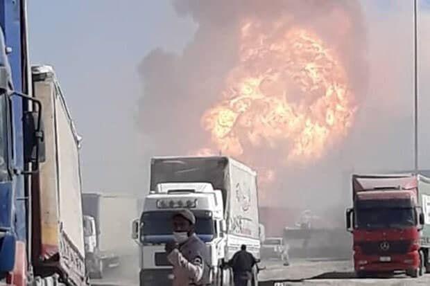 انفجار در گمرک ایران و افغانستان