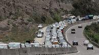 ترافیک سنگین به هراز و کندوان بازگشت