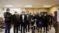 حضور قائم مقام فروشگاههای زنجیرهای کوروش در موسسه مطبوعاتی صمت
