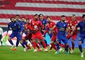 درگیری شدید بین بازیکنان پرسپولیس و استقلال + فیلم