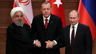 اتحاد ایران، روسیه و ترکیه درباره سوریه