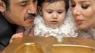 ببینید:اتفاقی عجیب در تولد دختر مهران غفوریان