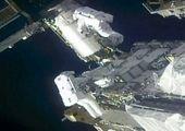 تصاویر جالب از پیادهروی در فضا