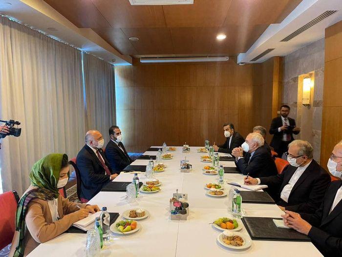 ظریف بر تامین امنیت افغانستان تاکید کرد