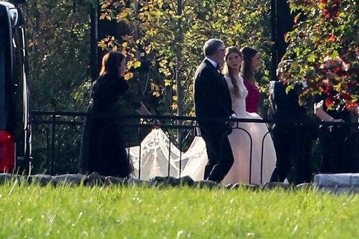 تصاویر لو رفته از مراسم لاکچری عروسی دختر بیل گیتس + عکس