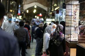 تصاویر/ بازار بزرگ تهران در آستانه انتخابات ۱۴۰۰
