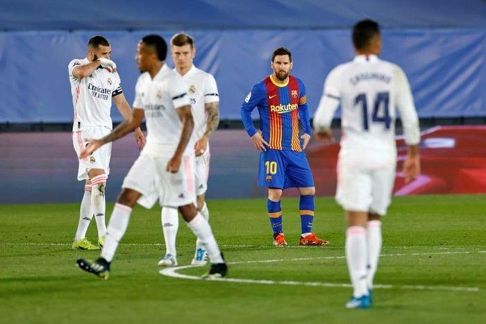 مسی همچنان دلتنگ رونالدو؛ رئال مادرید پیروز الکلاسیکو