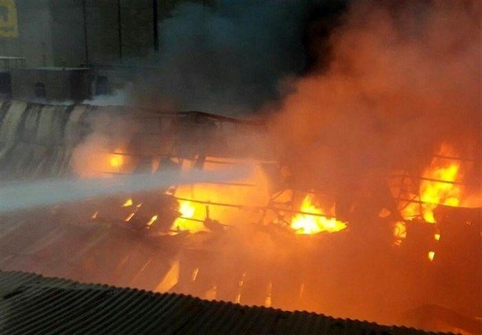 حادثه مرگبار در انفجار کارخانه ذوب فلز اردستان