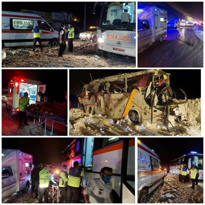 واژگونی اتوبوس و تلفات سنگین تیم فوتسال