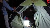 گاز گرفتگی ۶ نفردر چادر مسافرتی+ جزییات