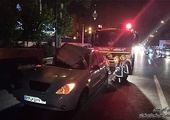 تصادف زنجیرهای در اتوبان کرج - قزوین با ۳۰ مصدوم