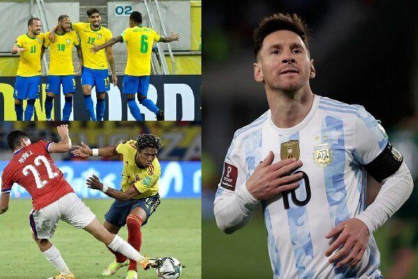 رکورد پله زده شد / بهترین گلزن تاریخ آمریکای جنوبی