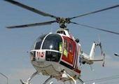 هلیکوپتر هوانیروز برای نجات کودک ۵ ساله