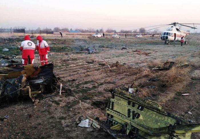 انتشار گزارش بررسی سانحه هواپیمای اوکراینی