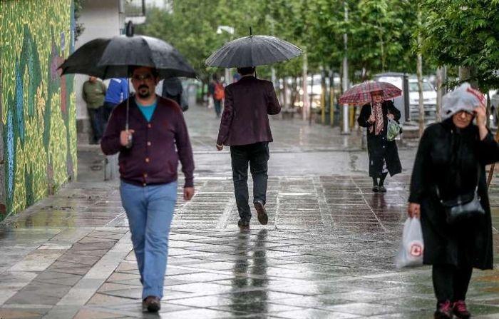 تهرانی ها آماده بارش تگرگ باشند