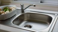 تمیز کردن سینک ظرفشویی در یک چشم به هم زدن!