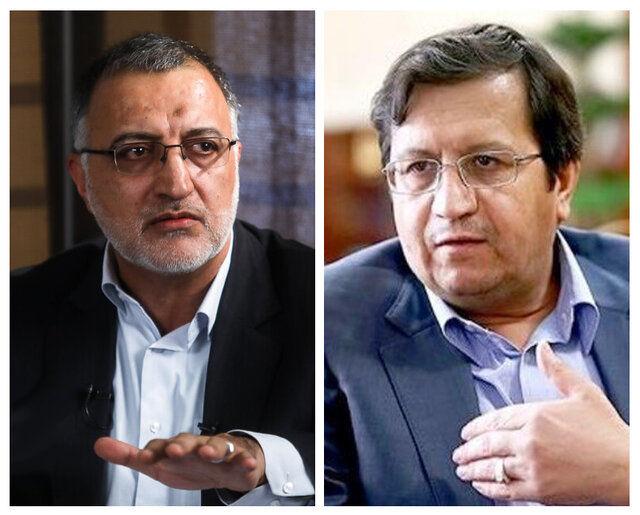 جزئیات جدال انتخاباتی بین زاکانی و همتی