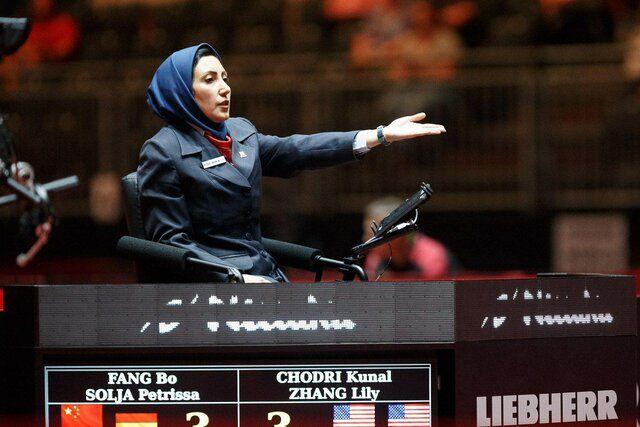 نخستین داور زن ایرانی وارد ژاپن شد