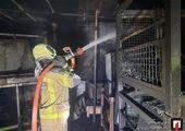 آتشسوزی بزرگ در پالایشگاه نفت حیفا / فیلم
