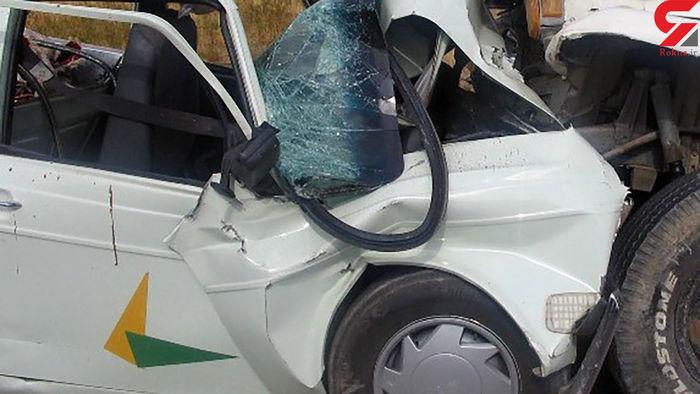 تصادف وحشتناک با ۴ کشته! + عکس