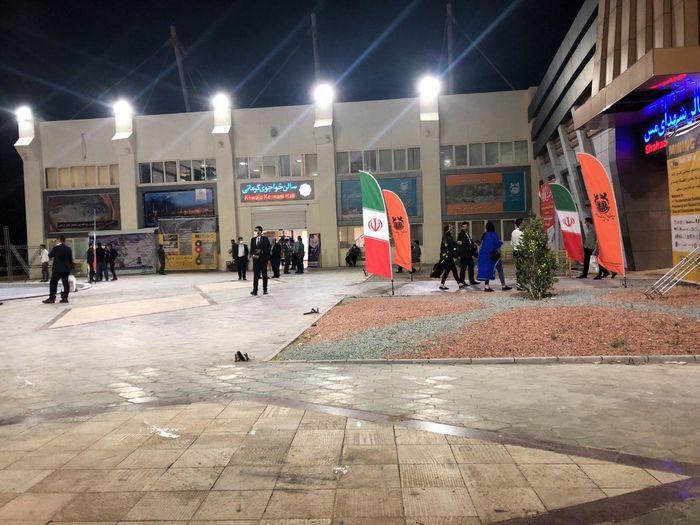 حال و هوای نمایشگاه معدن کرمان تحت تدابیر بهداشتی