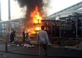 جزئیاتی از آتش سوزی شدید در اسرائیل + فیلم